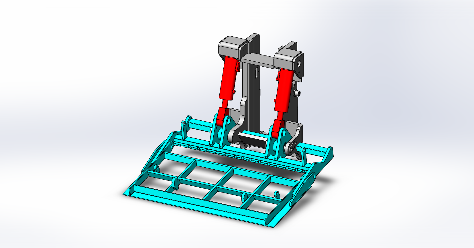 Axon Forklift: Tipping Carriage / Loading Bucket-9