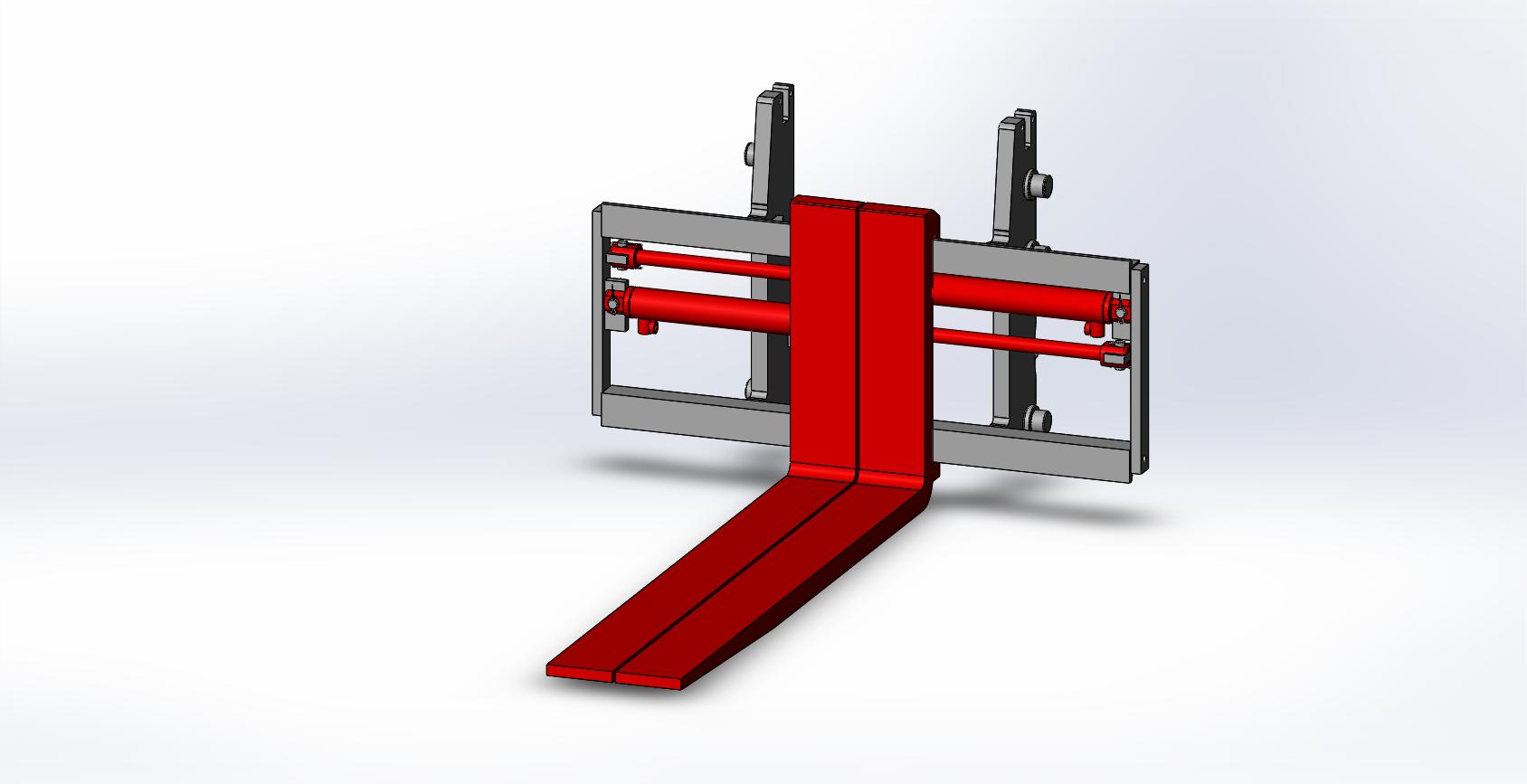 Axon Forklift: Fork Positioners E10-Light Duty-1