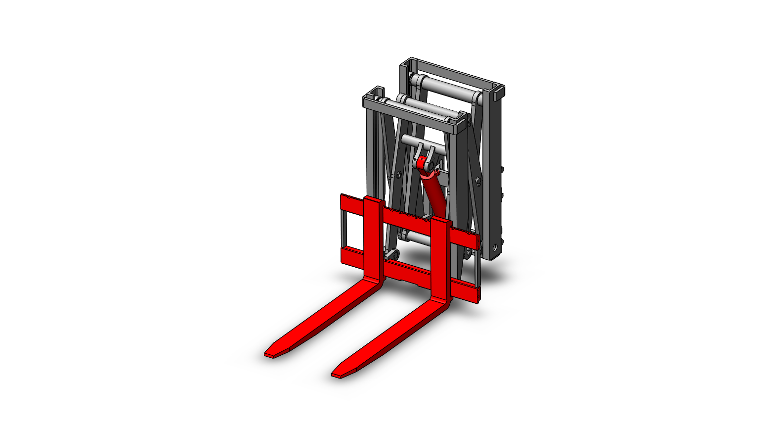 Axon Forklift: Roll Clamps-1