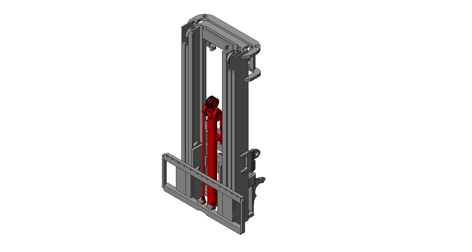 Axon Forklift: Three Stage Mast-2