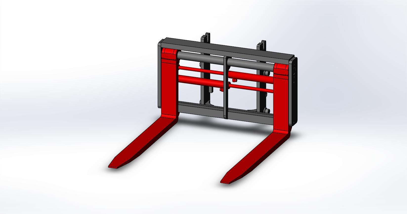 Axon Forklift: Fork Positioners-Medium Duty-2