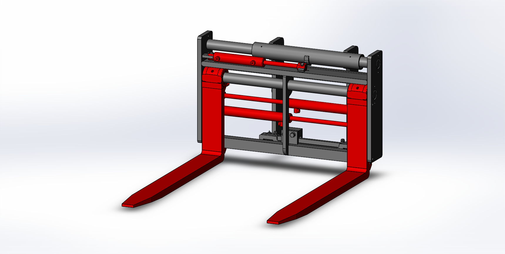 Heavy Duty Side shifter & Fork Positioners - Medium Duty