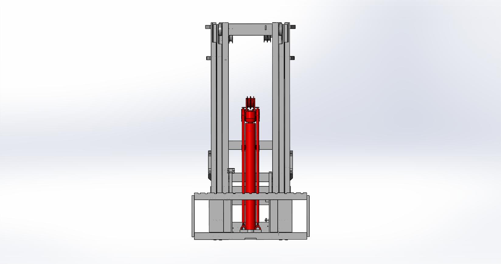 Axon Forklift: Three Stage Mast-4
