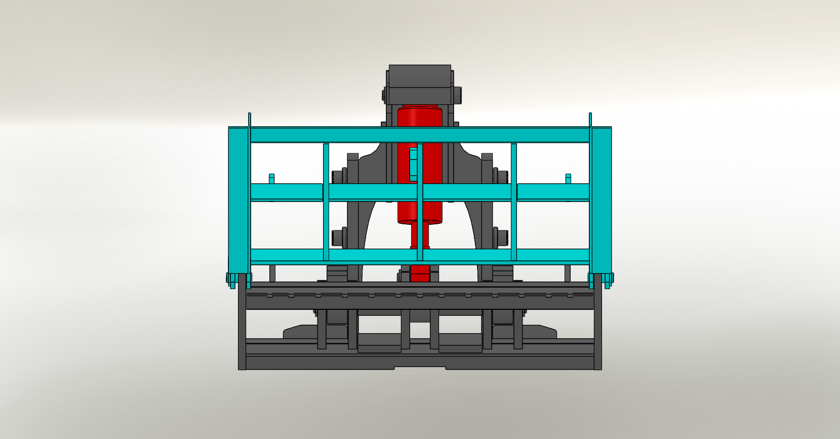 Axon Forklift: Tipping Carriage / Loading Bucket-4
