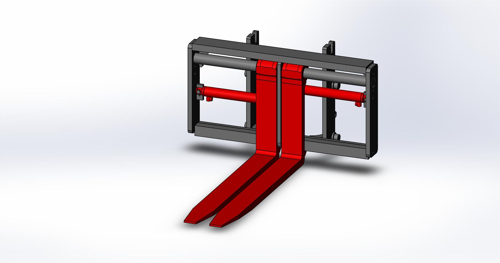Axon Forklift: Fork Positioners-Medium Duty-5