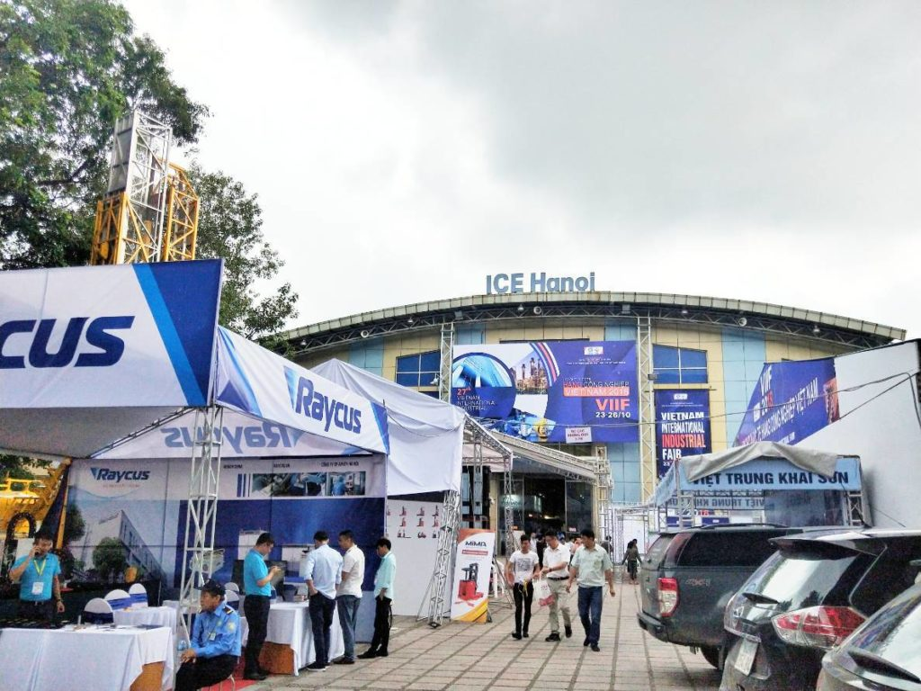 Axon joined VIIF 2018 in Vietnam